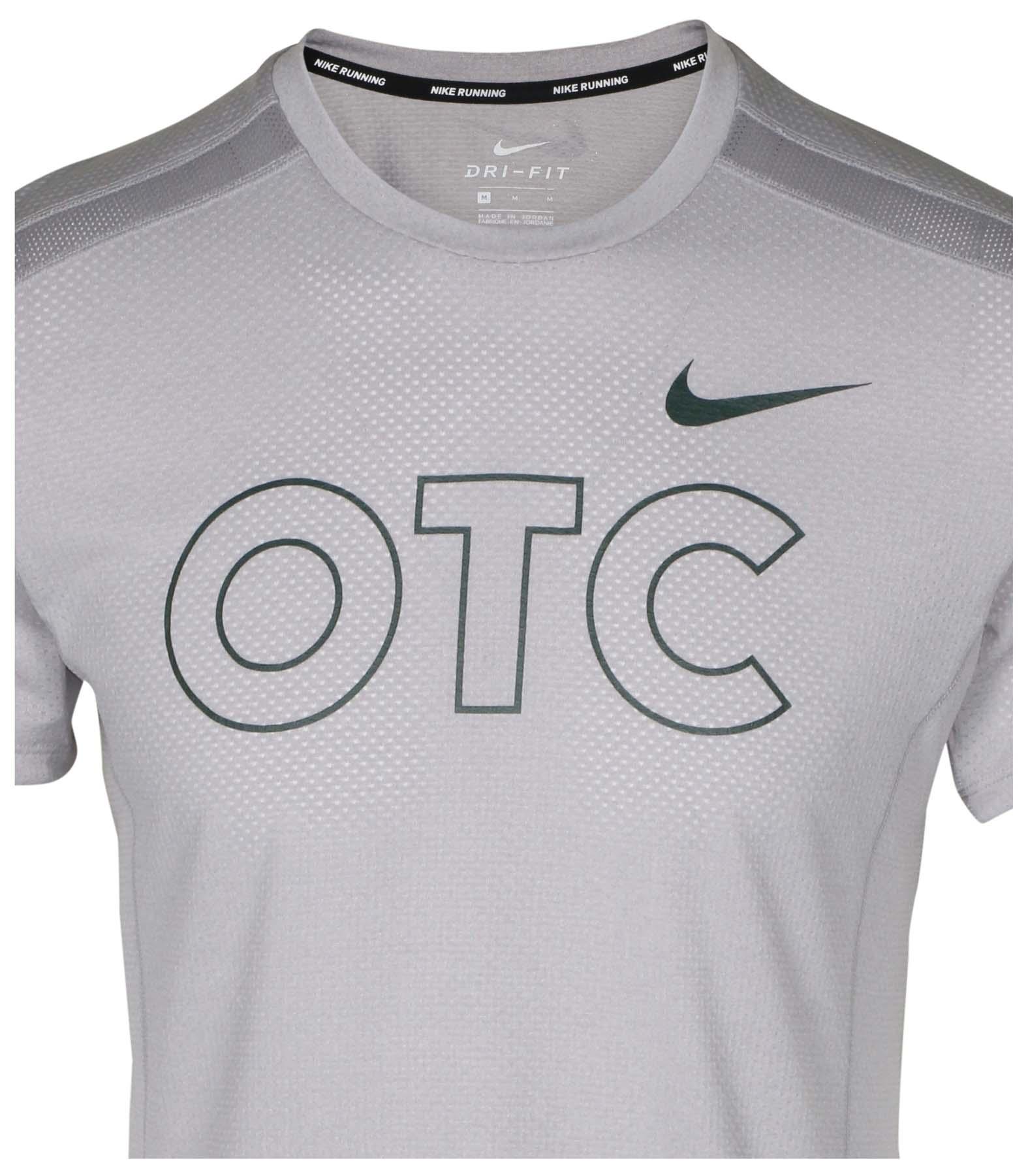0c53a57d71de Nike Men s Miler Oregon Track Club Running Top-Wolf Grey