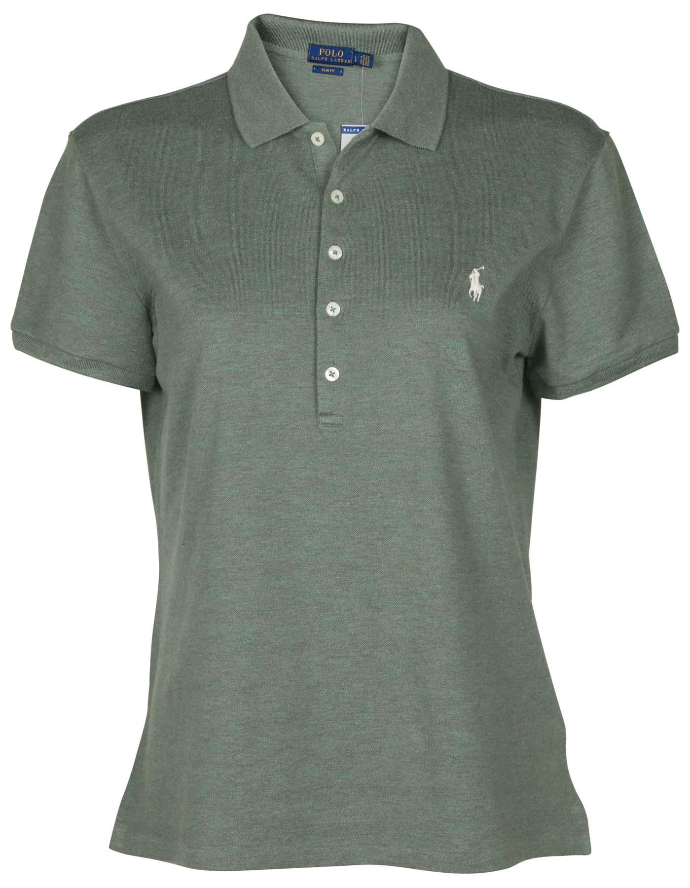 b379460023235 Grey Polo Shirts Womens