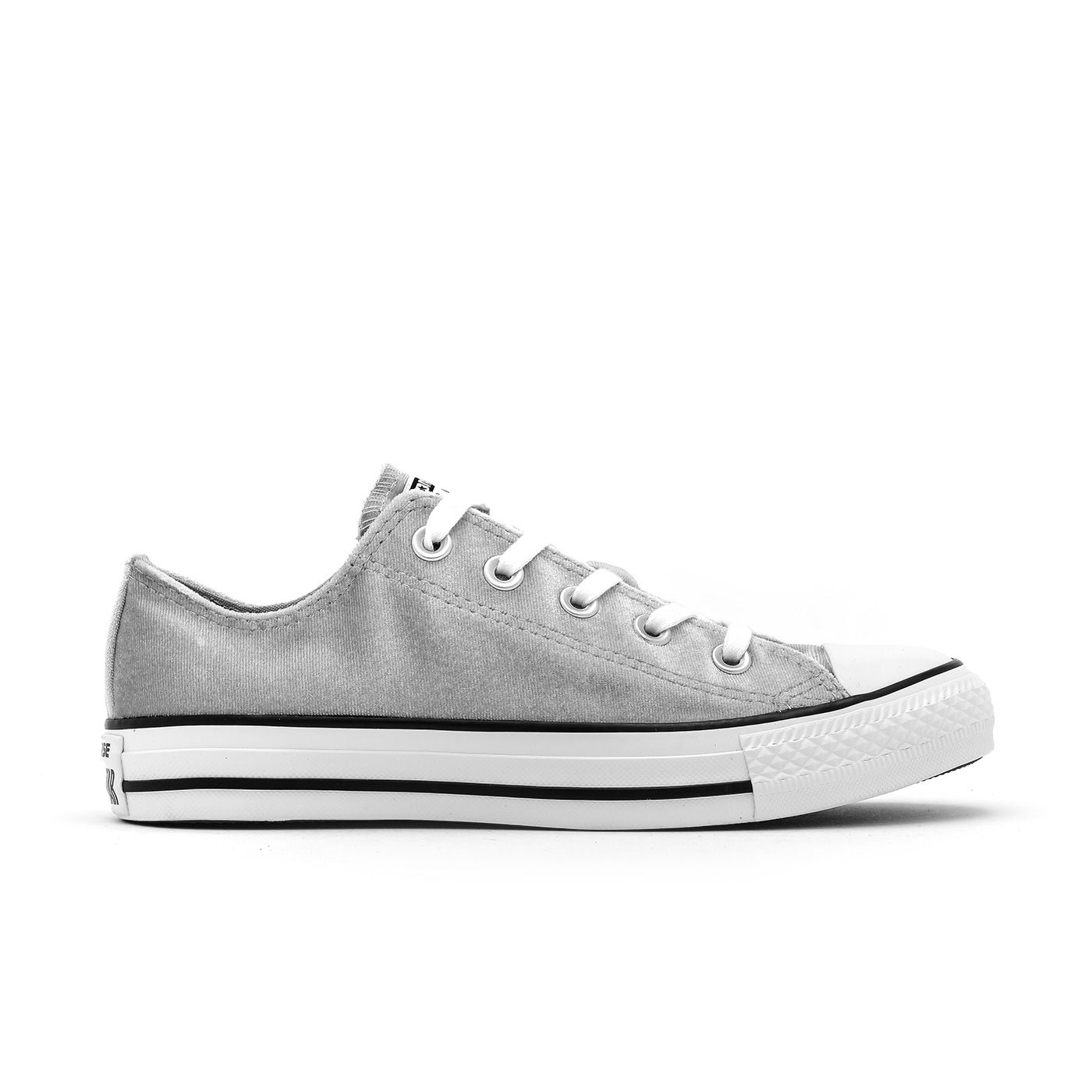 9e53ead5de7ffb Converse Women s Chuck Taylor All Star Ox Velvet Shoes-Wolf Grey ...