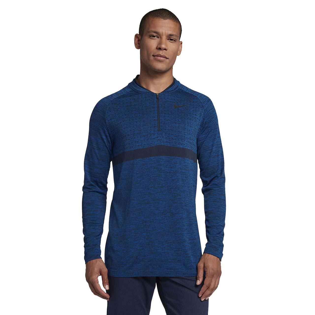 fda1563e431f Nike Men s Dri-Fit Half Zip Golf Top