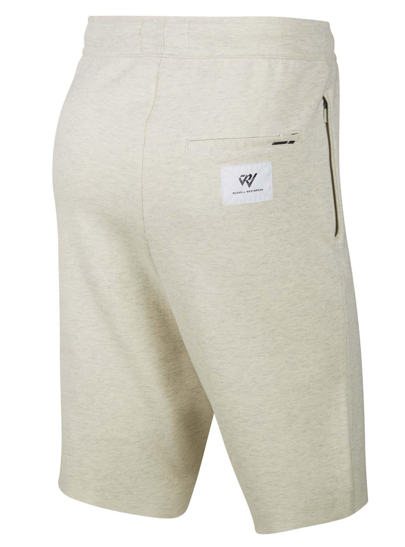 5e07eb5ef4c93f Jordan Men s Nike Russell Westbrook RW X JSW Fleece Shorts-Tan