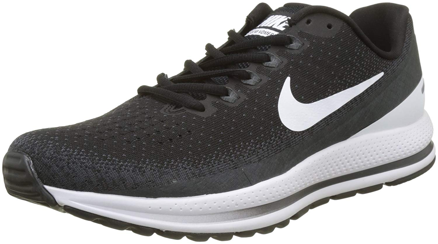 bdbc2c8390f5a Nike Men s Air Zoom Vomero 13 Running Shoes-Black White Antracite-7 ...