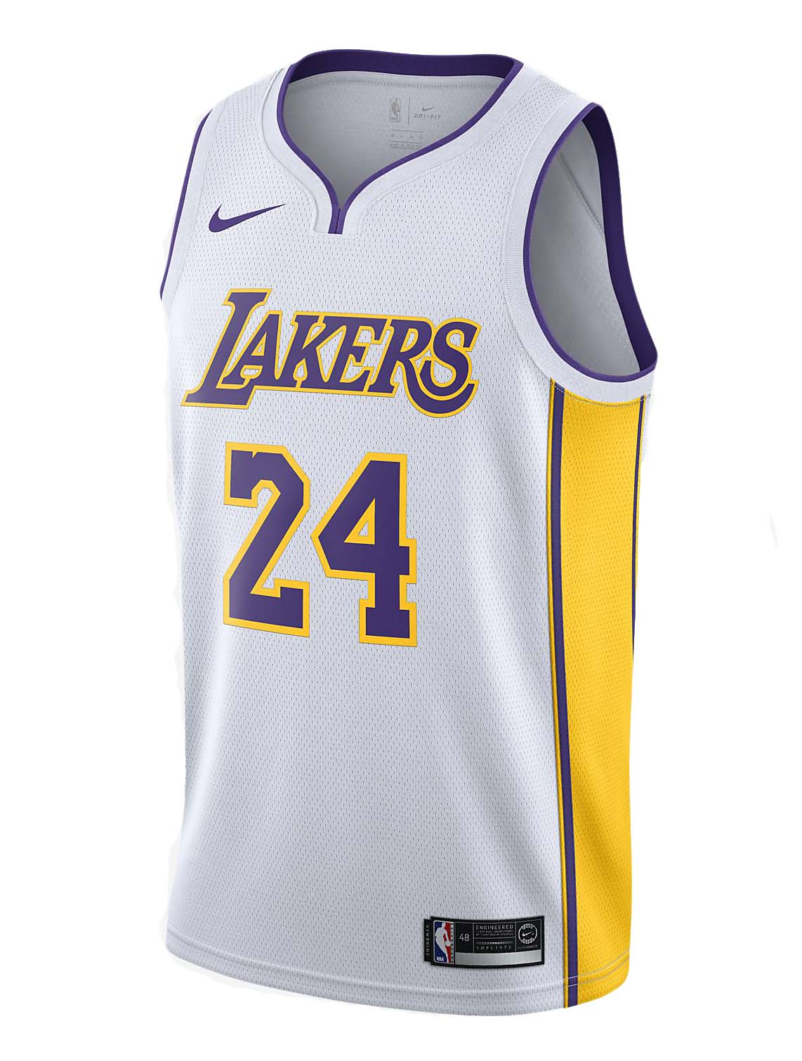 2b564c6d297f3f Nike Kobe Bryant Swingman Jersey Los Angeles Lakers White Aq2108-100 2xl 56  Gold. About this product. Picture 1 of 3  Picture 2 of 3 ...