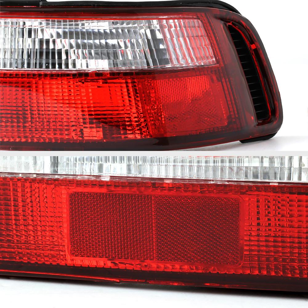 1990-1993 Acura Integra DA B18 GSR VTEC JDM Red Clear Rear