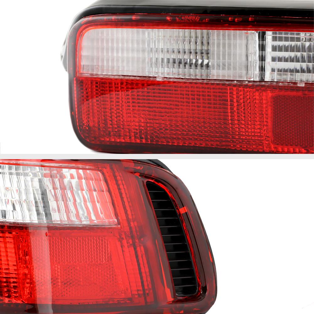 1990 1993 Acura Integra Da B18 Gsr Vtec Jdm Red Clear Rear