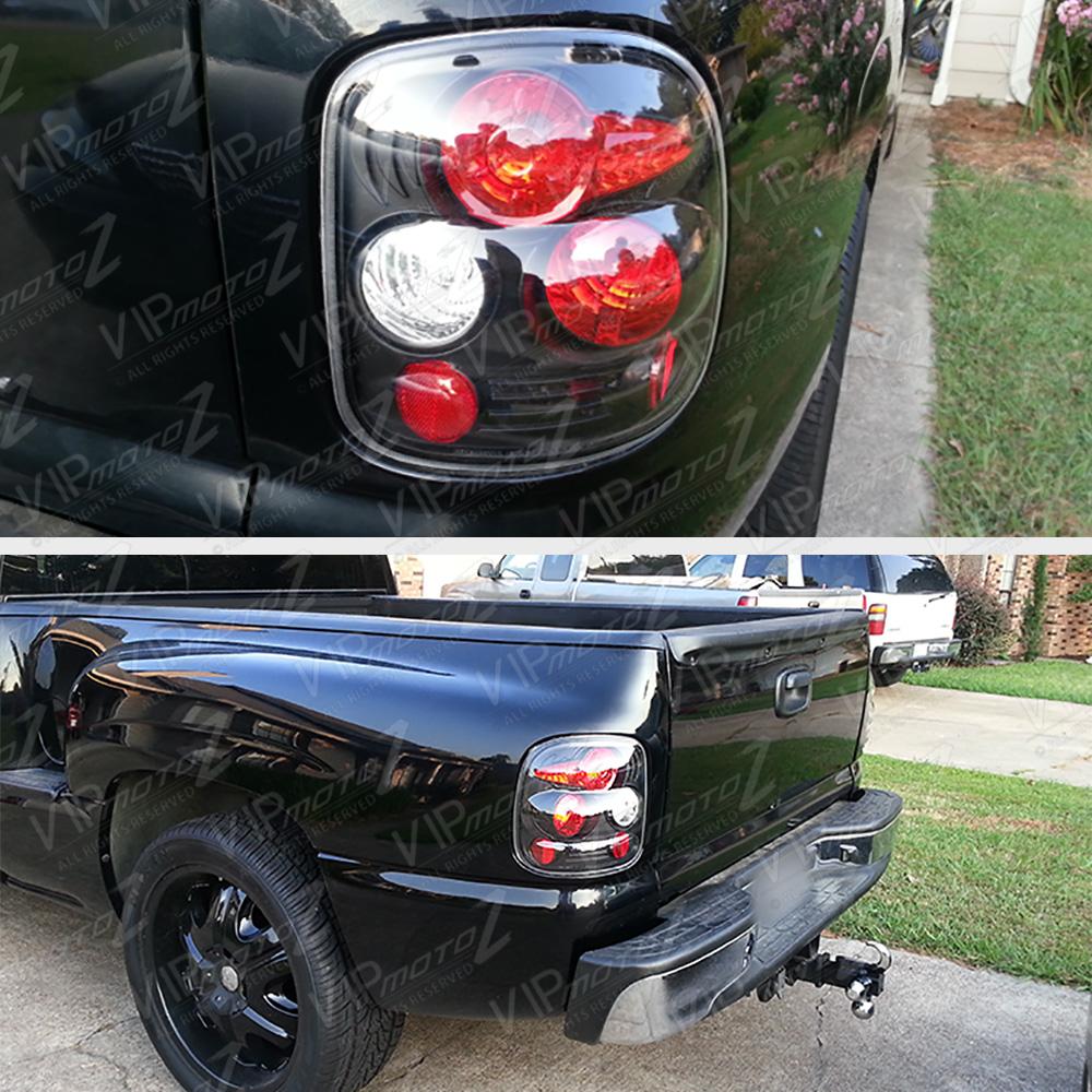 99-04 Chevy GMC Sierra Silverado Stepside Black Tail