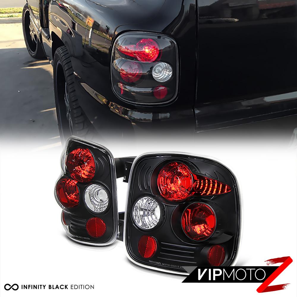 99 04 Chevy Gmc Sierra Silverado Stepside Black Tail