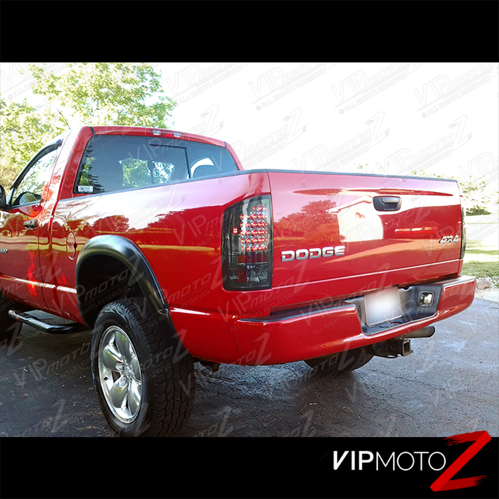 2007-2009 Dodge Ram 1500 Smoke Dark LED Taillight Brake