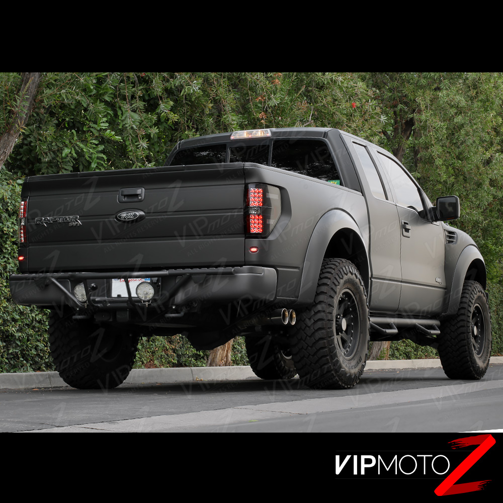 2009-2014 Ford F150 [RAPTOR STYLE] Black LED Neon Tube