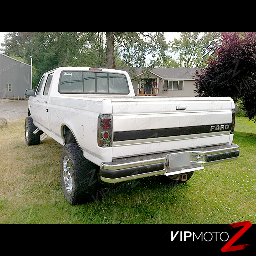 [BESTLOOK] 1989-1996 Ford Bronco F150 F250 F350 Smoke Red