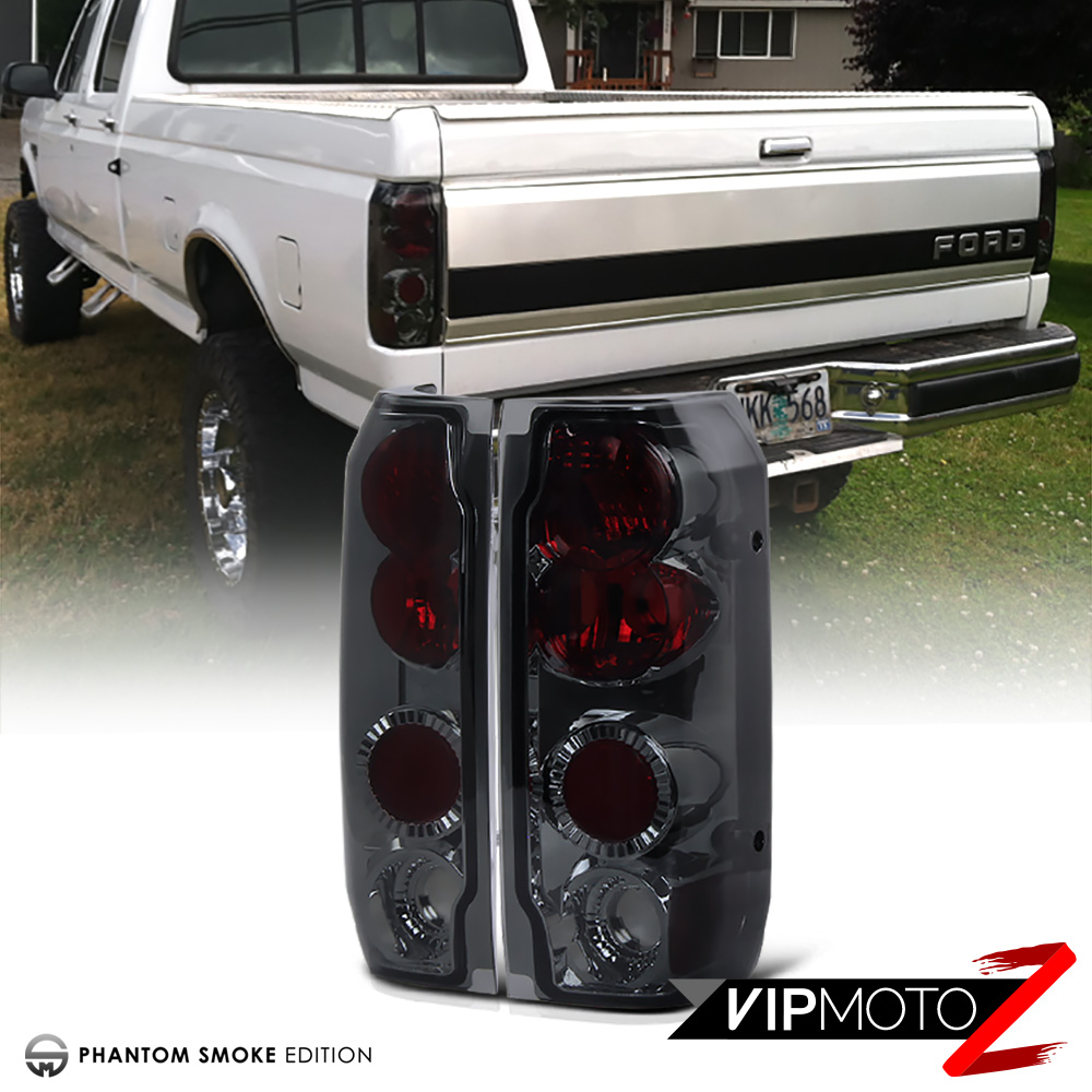 FORD 1992-1996 F150 F250 F350 Bronco [SMOKE 8P] Headlight Corner ...