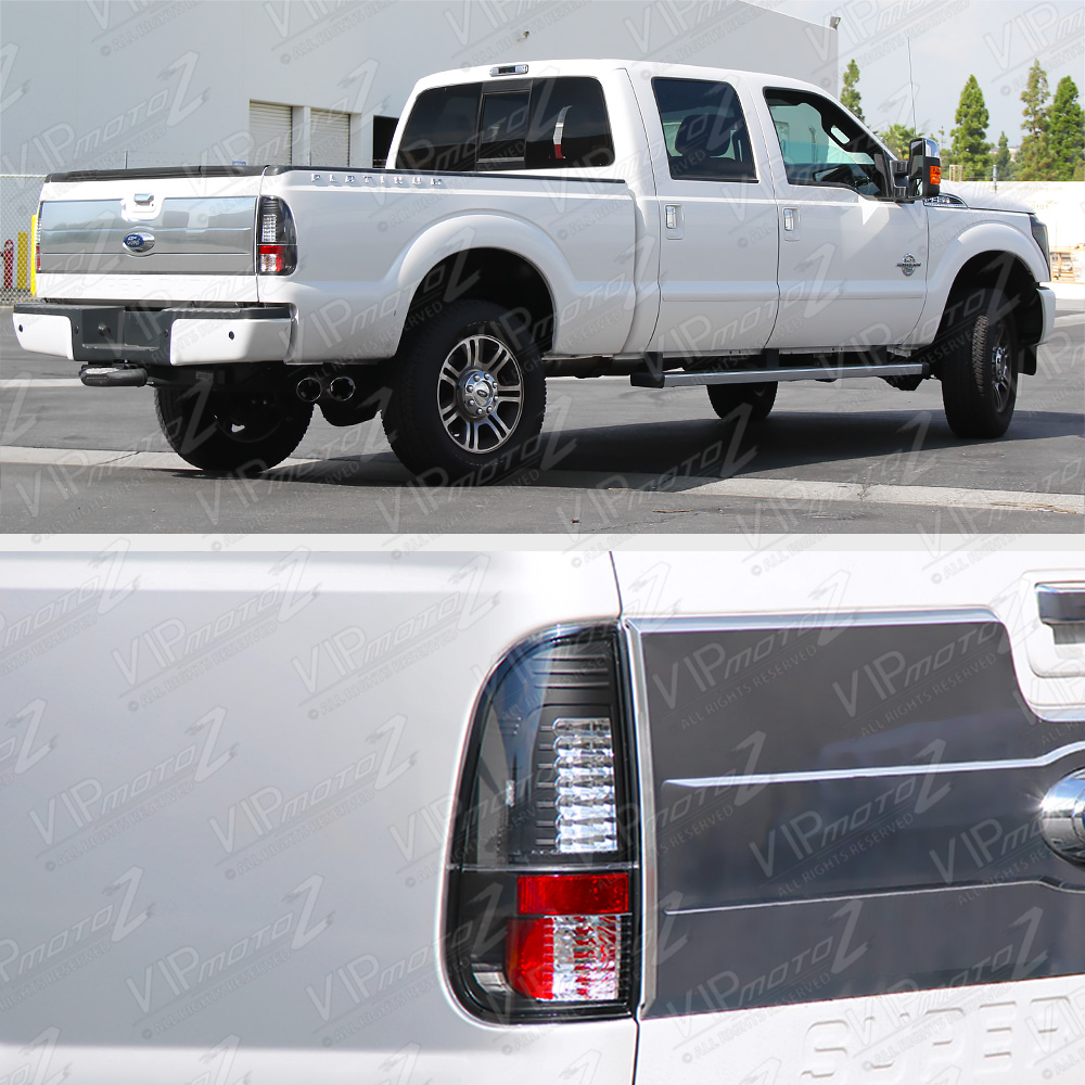 2008-2016 Ford 250 350 450 SuperDuty *V2 LED* Black Tail