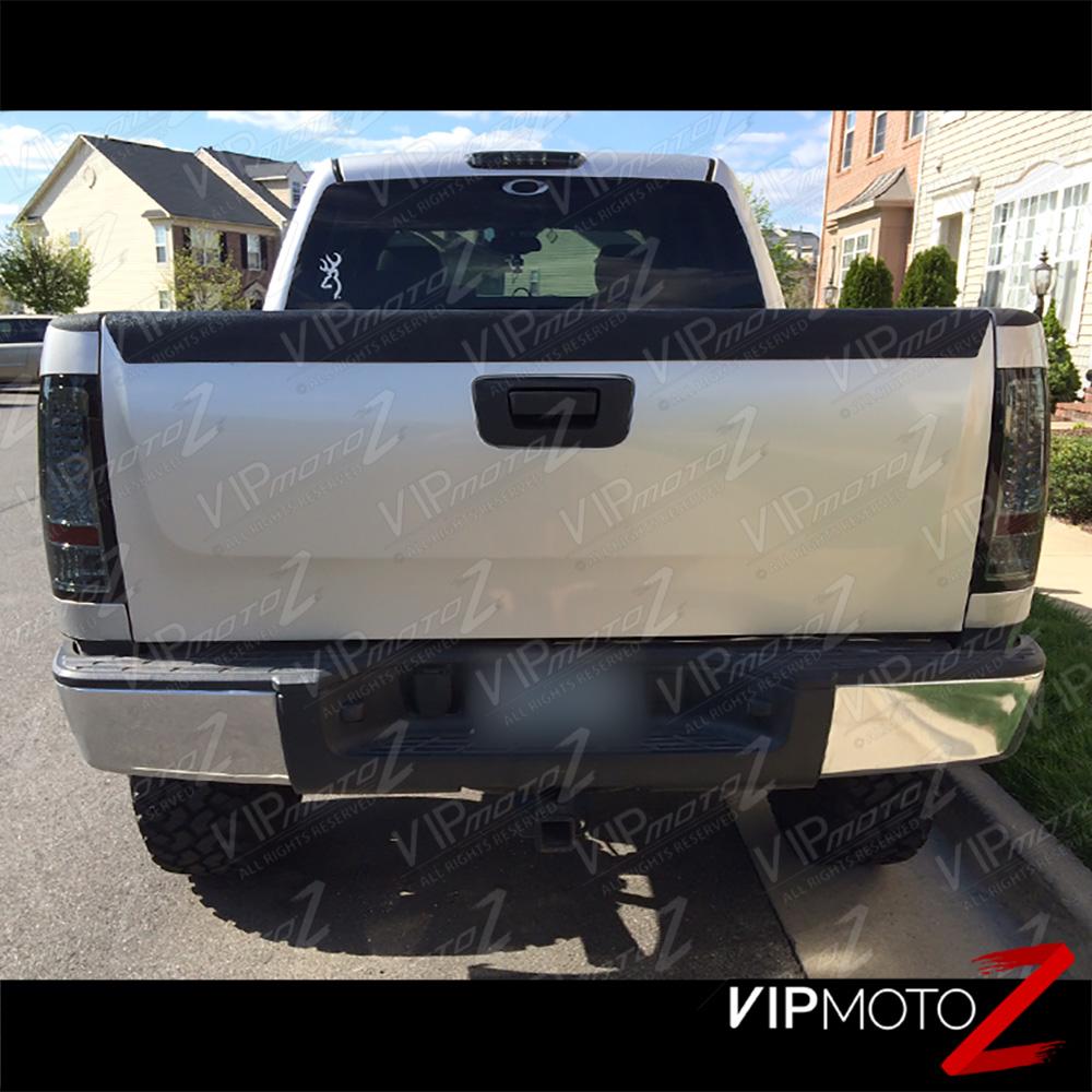 GMC Sierra 07-2011 LTZ V8 Truck LED Tail Light Brake+Turn
