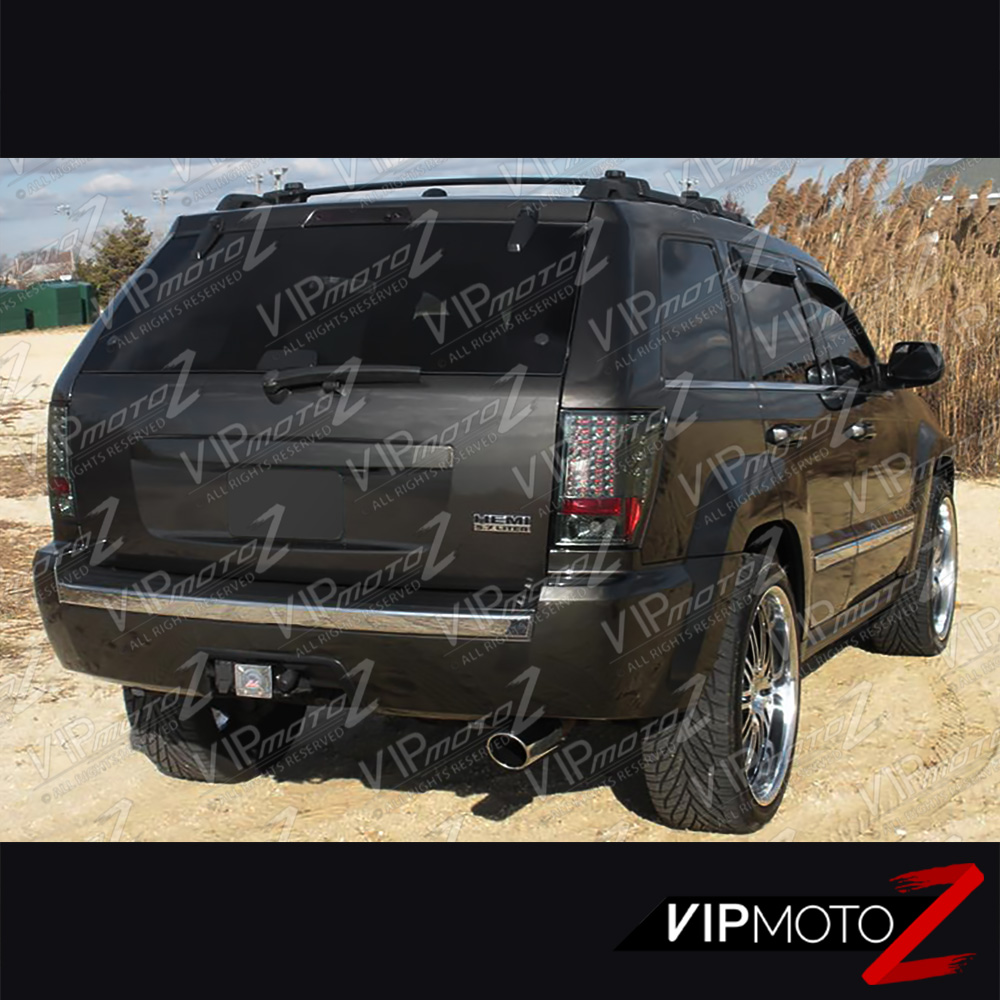 2005 2006 jeep grand cherokee srt8 limited smoke led smd tail lamp signal light cad. Black Bedroom Furniture Sets. Home Design Ideas
