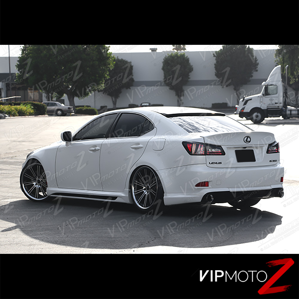 2008 Lexus Is 250 Price: 2006 2007 2008 Lexus IS250 IS350 ISF Black Rear LED Tail