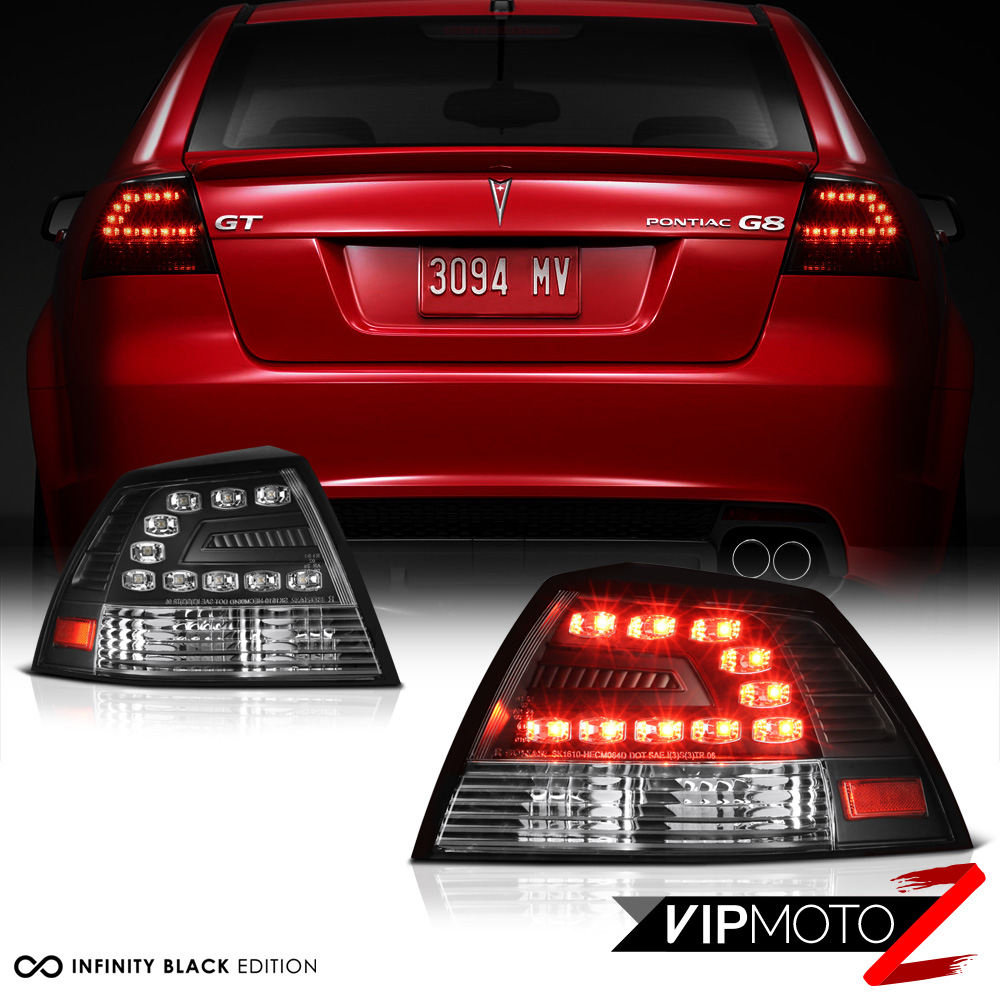 details about black left right smd tail light led brake lamps assembly 08 09 pontiac g8 gxp gt  amazon com pontiac grand am (se