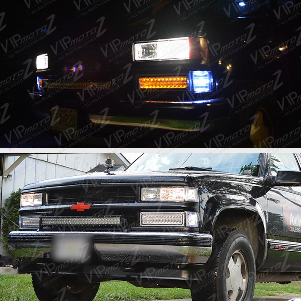 All Chevy 97 chevy k1500 : GLASS LENS] 1988-1998 CHEVY SILVERADO TAHOE SUBURBAN SIERRA ...