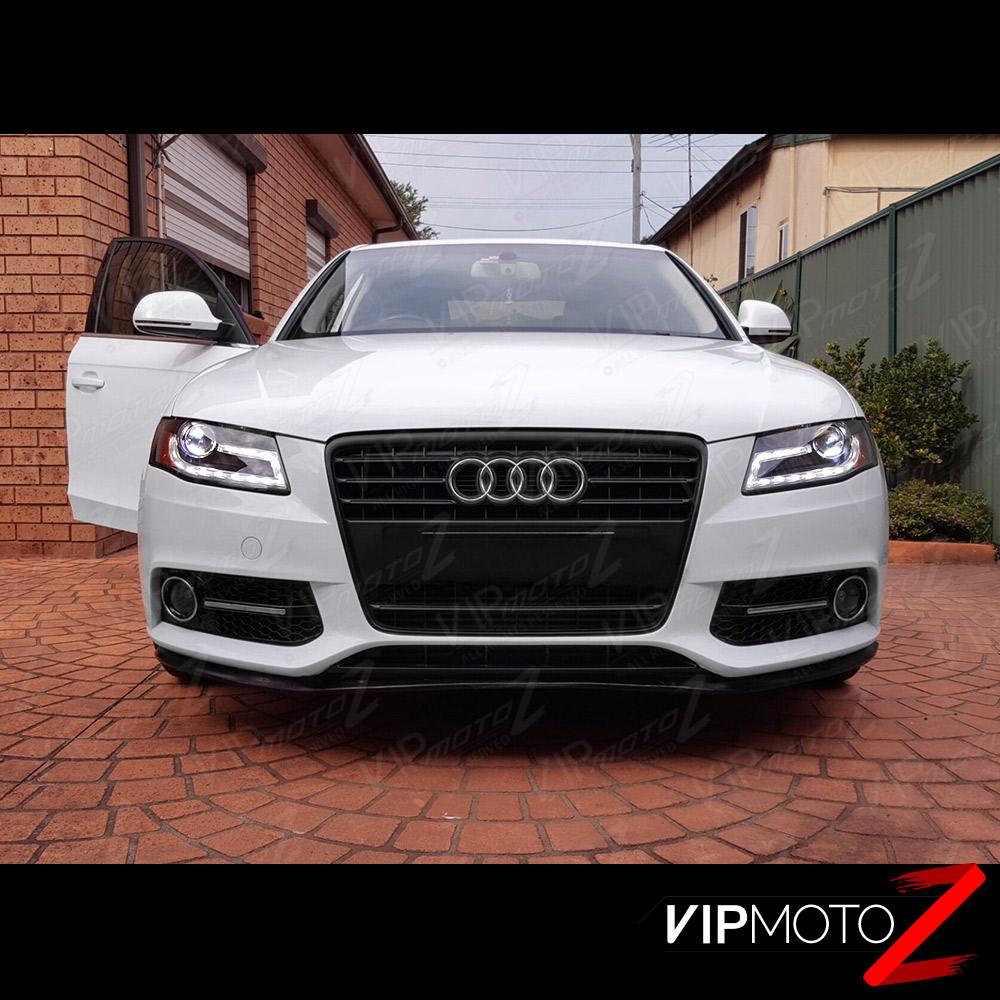 2010 Audi A4 Performance Upgrades: 2009-2011 Audi A4 B8 [Infinity Black] Projector Headlight
