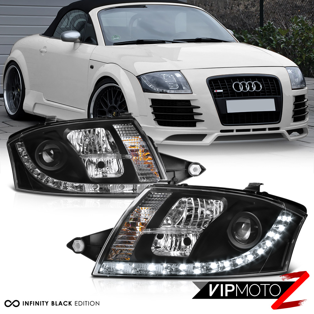 1999-2006 Audi TT Coupe Convertible Quattro Black LED DRL