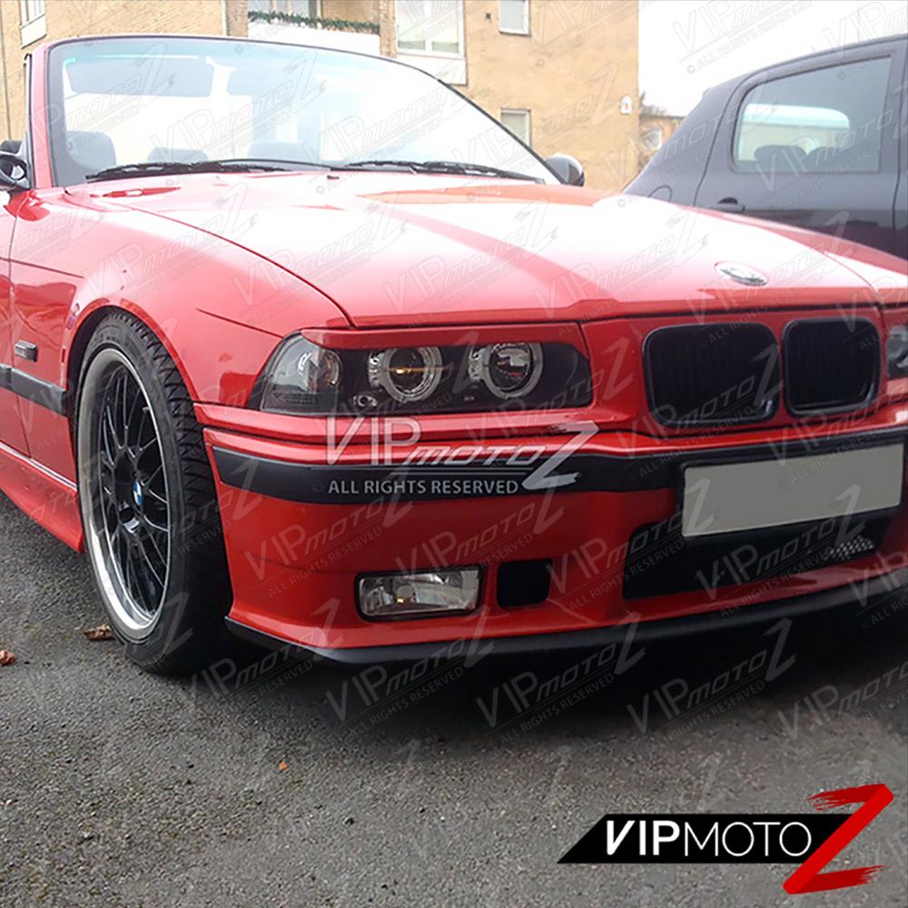 1992-1998 BMW E36 3-SERIES 2D Coupe Black Halo Angel Eye
