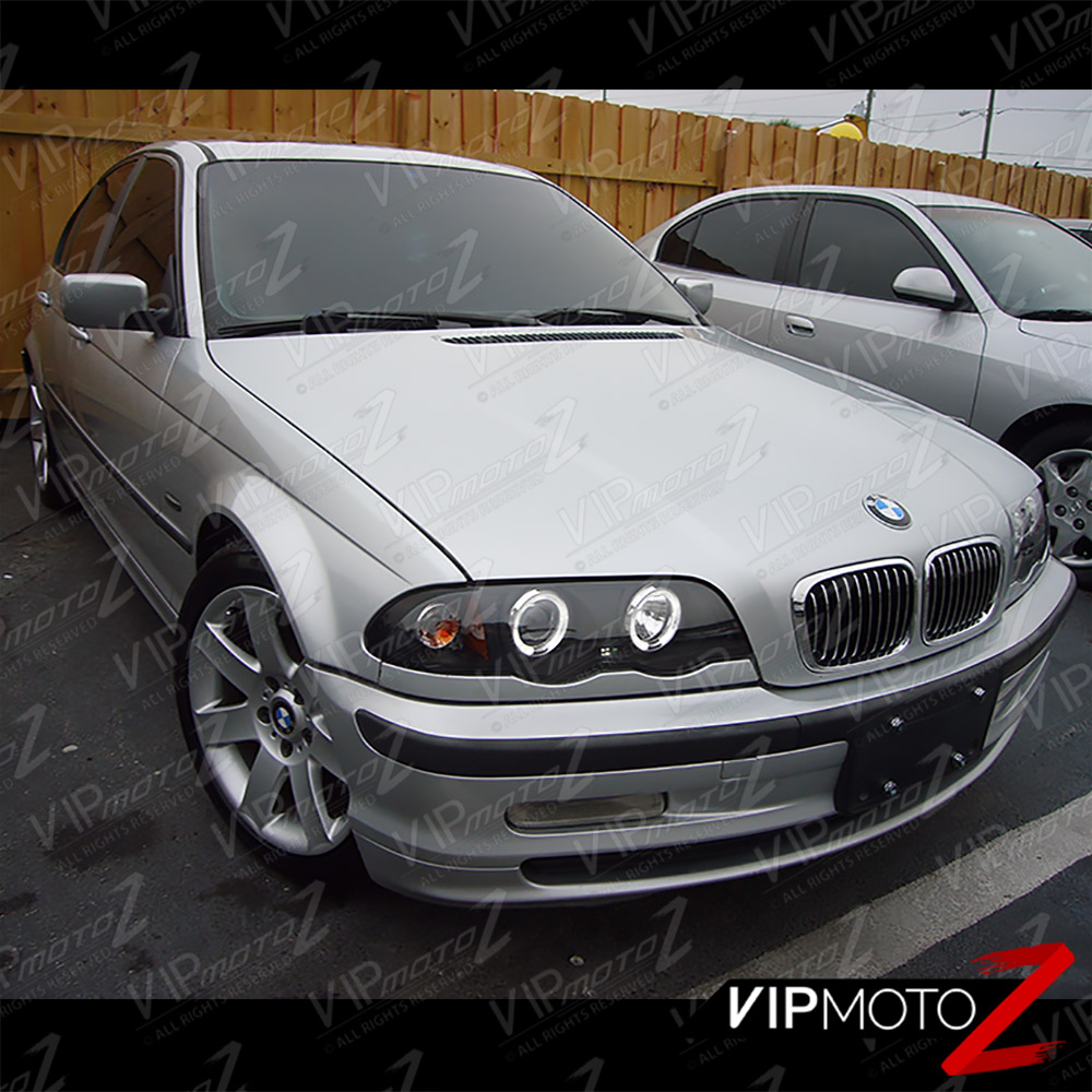 2000 Bmw 323 Coupe: 99-01 BMW E46 323/325/328 3-Series 4DR Black Halo Angel