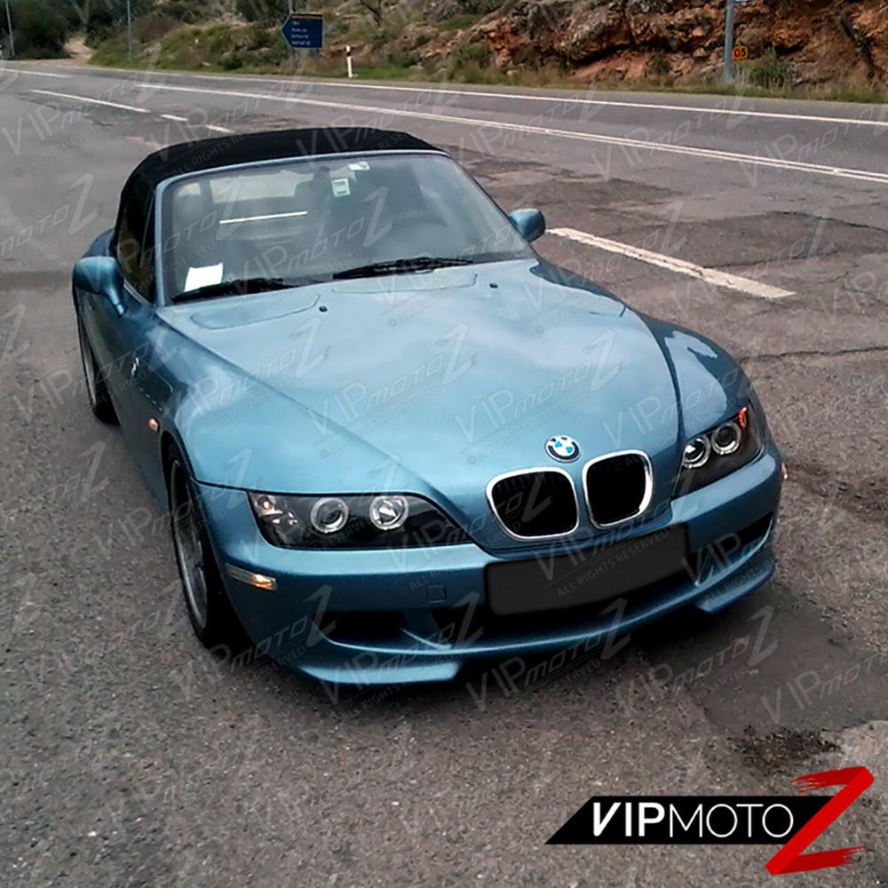 """Bmw Z 3: 1996-2002 BMW Z3 """"M-POWER"""" Black Angel Eye Halo Ring"""