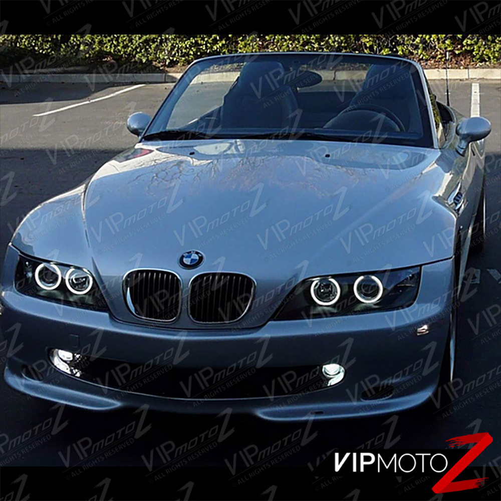 Bmw Z3 Colours: 96-02 BMW Z3 Smoke Projector Headlights Euro Halo Angel