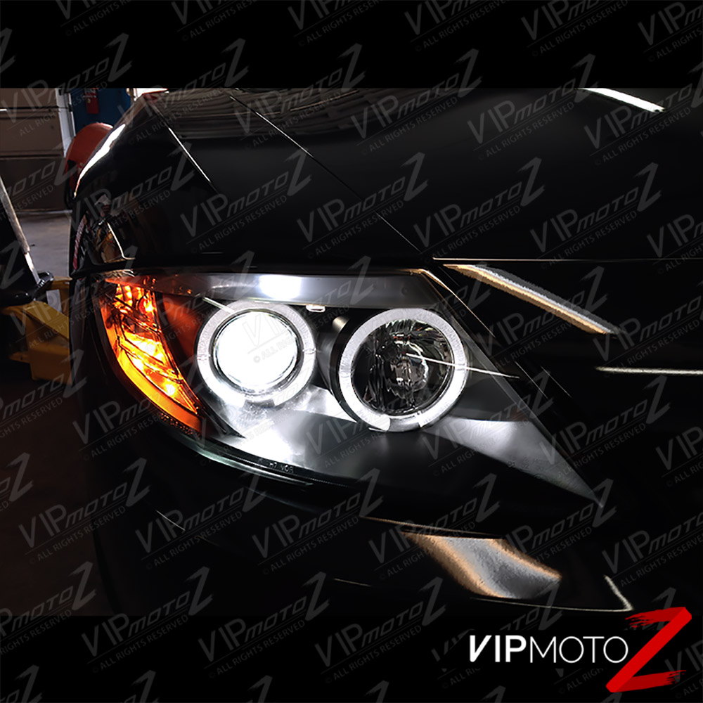 2003 08 Bmw Z4 Xenon Model Halo Projector Black Headlight