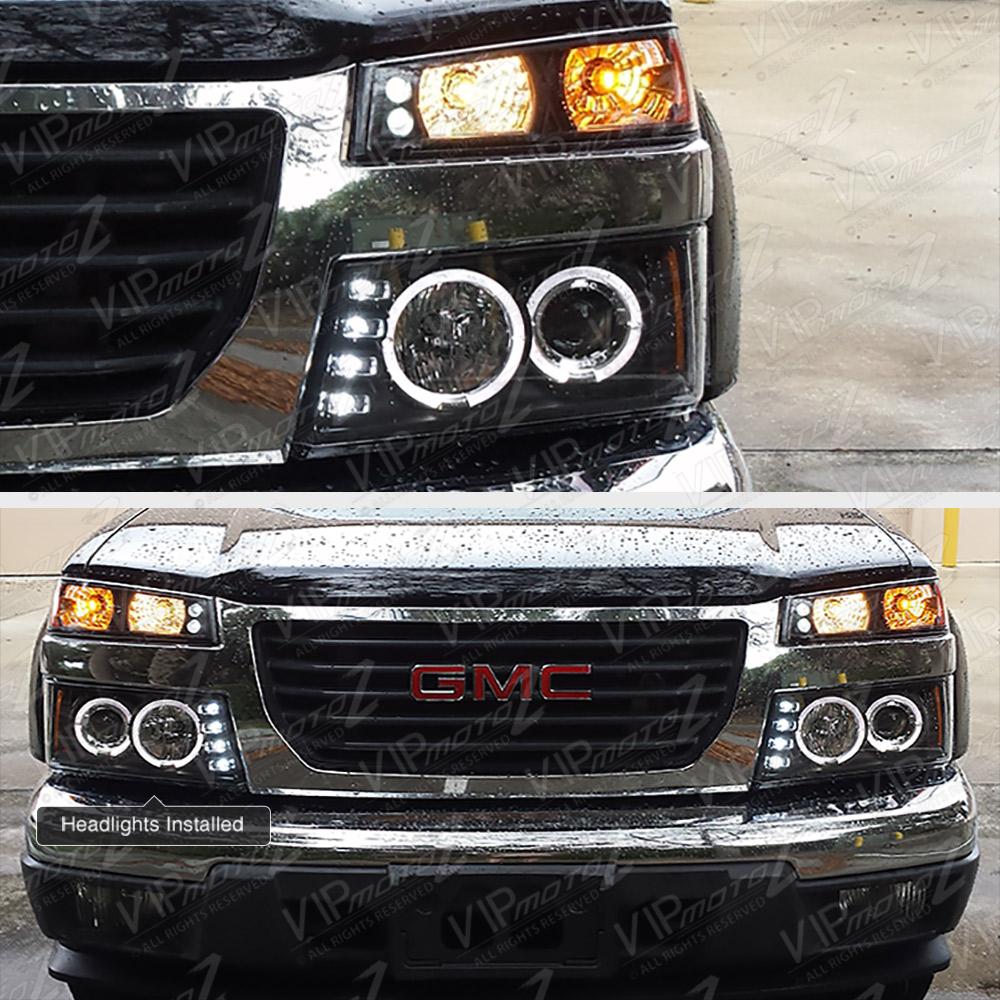 2006 Chevrolet Colorado Extended Cab Camshaft: 2004-2012 Chevy Colorado GMC Canyon Black Halo LED