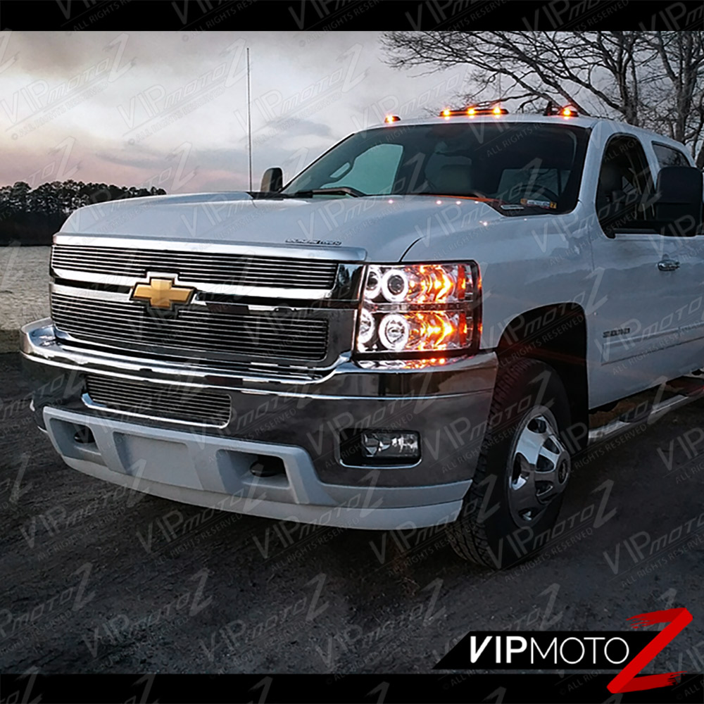 2007-2014 Chevy Silverado 1500 2500HD 3500HD Chrome Halo