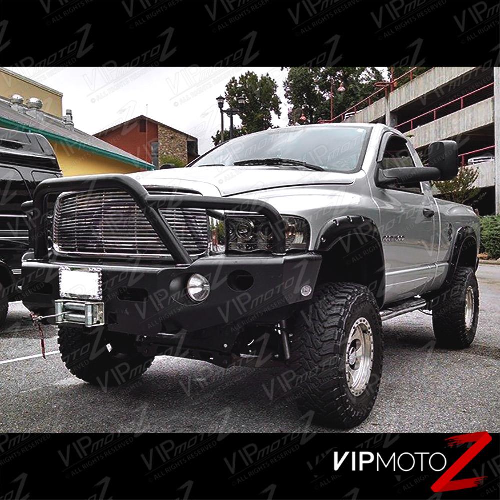 05 Dodge Ram: 02-05 Dodge RAM 1500 New LH+RH Pair Smoke Projector LED