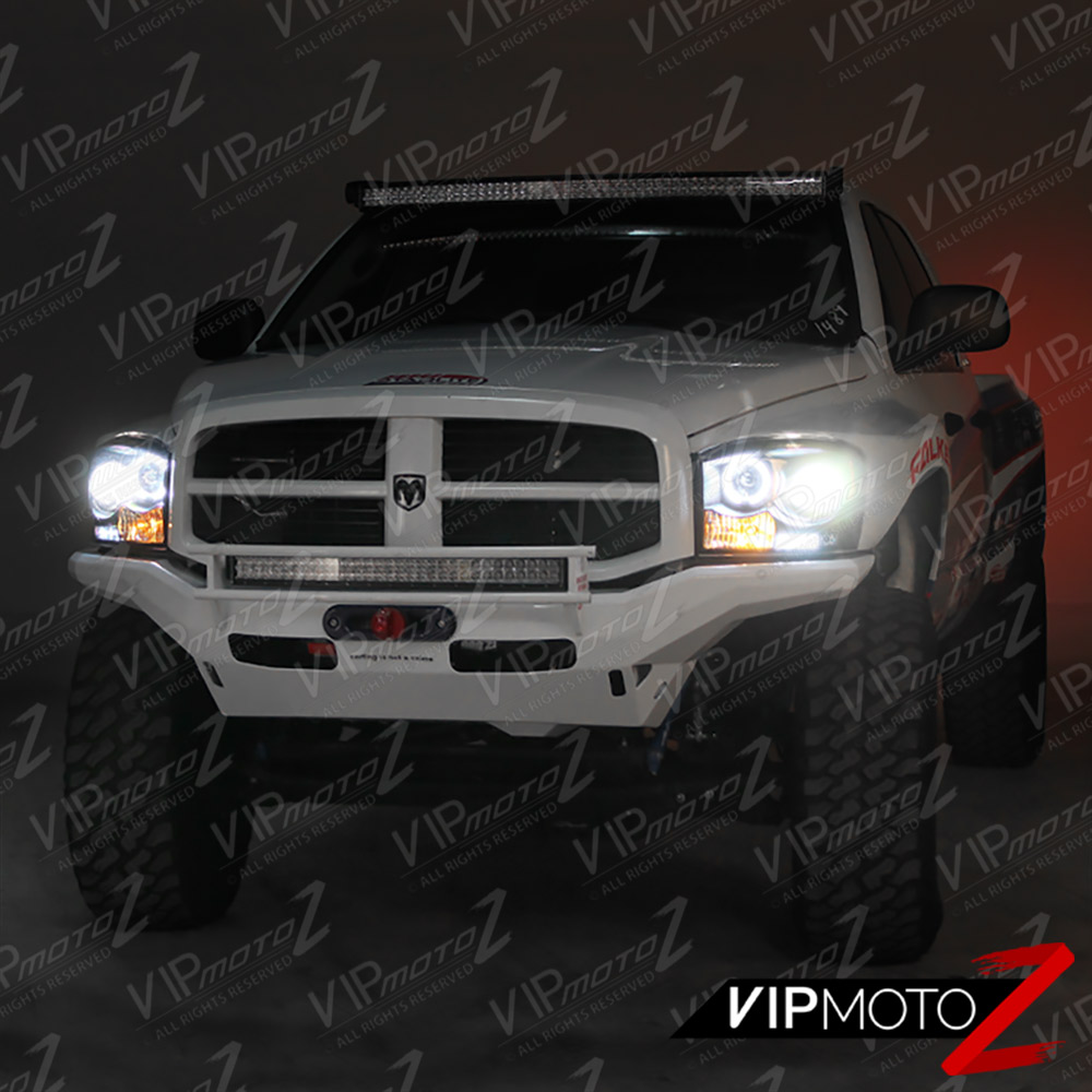 2006-2008 Dodge Ram 1500 2500 3500 CCFL Halo LED Headlight