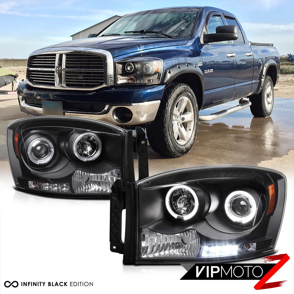 2009 Dodge Ram 3500 Quad Cab Camshaft: 2006 2007 2008 Dodge Ram 1500 2500 3500 Black Quad Halo