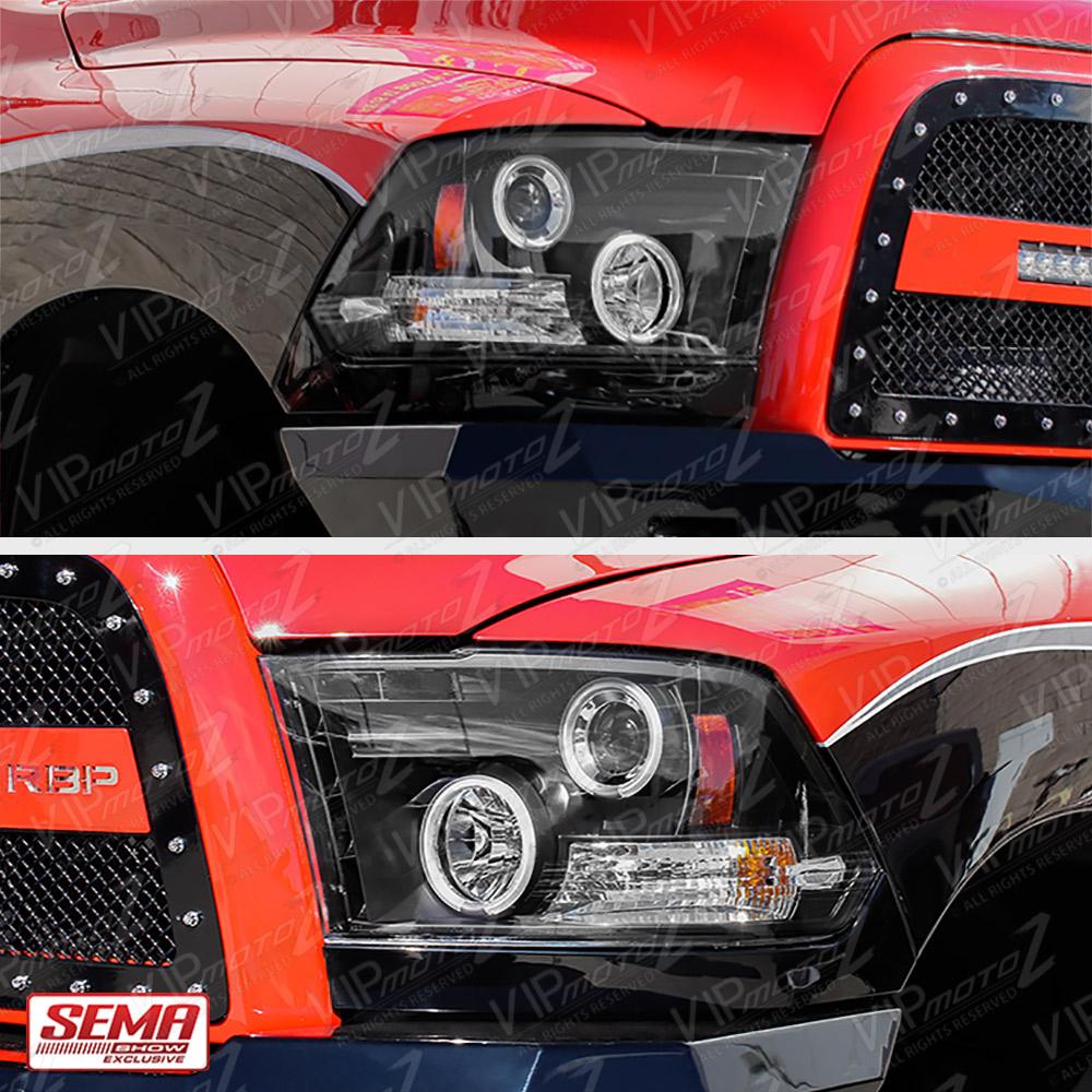 2009-2018 Dodge RAM 1500 2500 3500 Angel Eye Halo LED