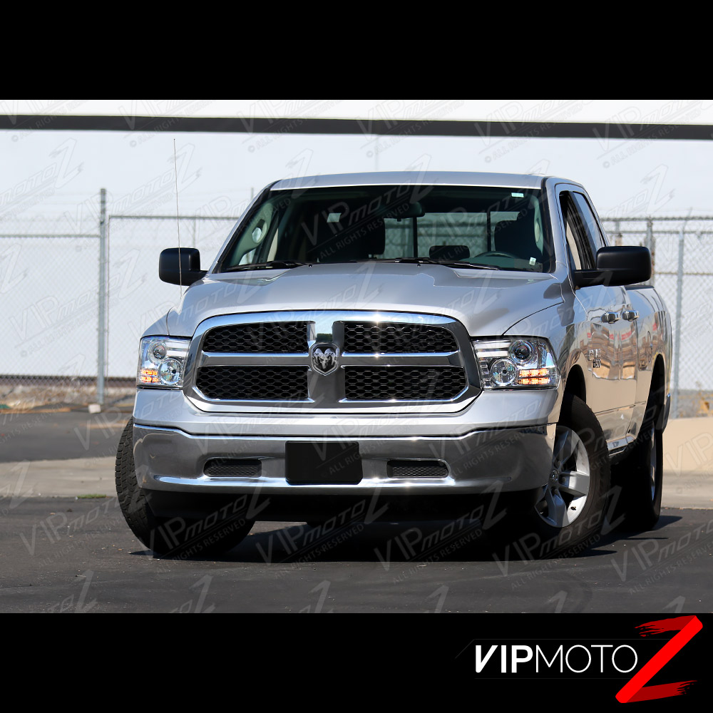 2009-2017 Dodge Ram 1500 2500 3500 Chrome Halo Tube Bar
