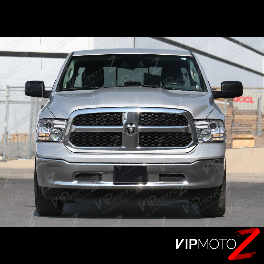 2009 2017 dodge ram 1500 2500 3500 chrome halo tube bar. Black Bedroom Furniture Sets. Home Design Ideas