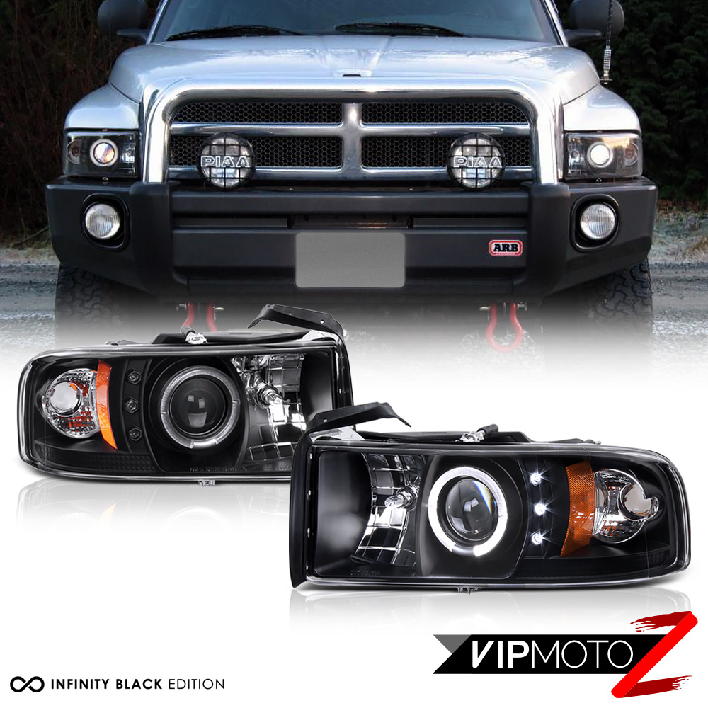 1994-2001 Dodge Ram 1500 Halo Led Projector Scheinwerfer