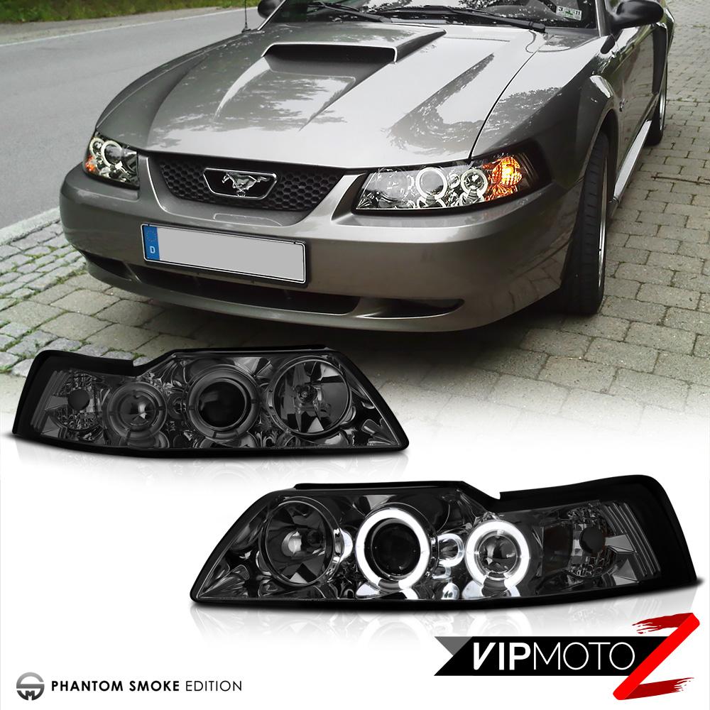 1999-2004 Ford Mustang V8 V6 GT 5.0 [SMOKE] Halo LED ...