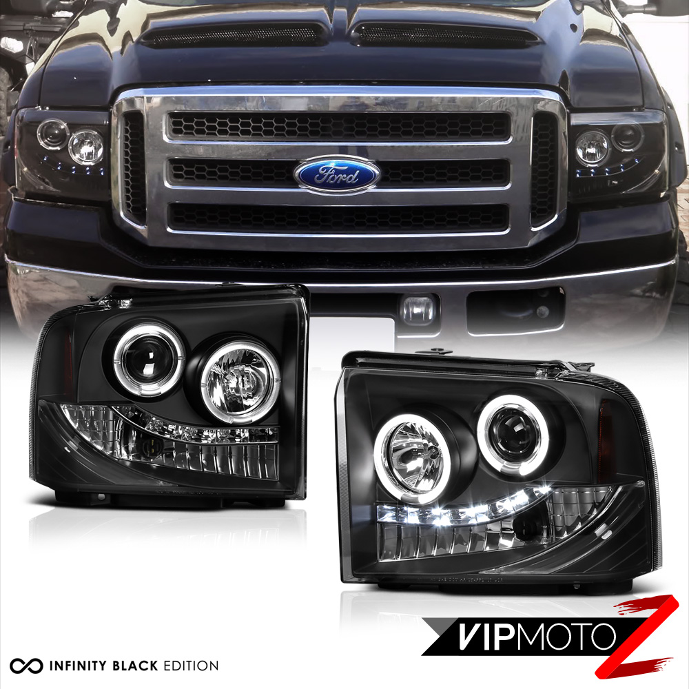 Halo Headlights Front Lamp Led Bulbs Tail Lights 2005 2006 2007 Ford F250 Fx4 7426546867892