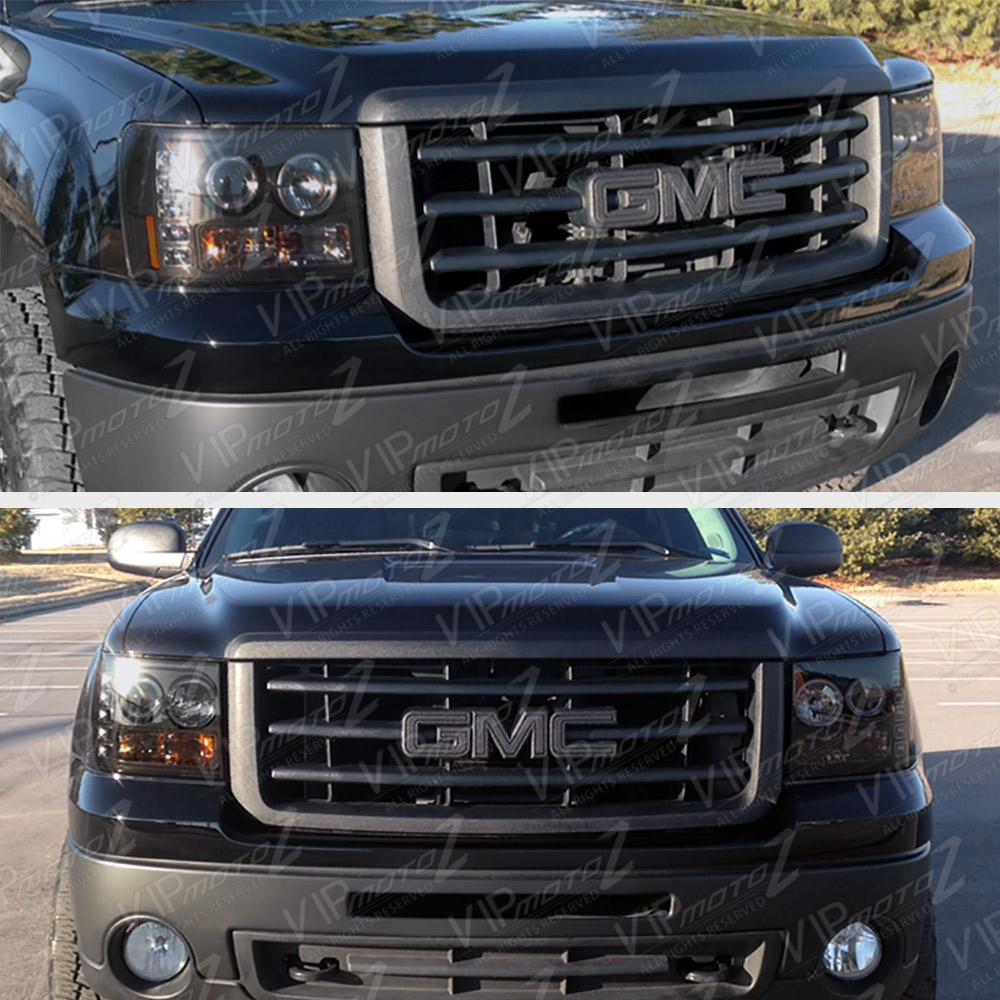 SINISTER BLACK 2007-2013 GMC Sierra 1500 2500 3500HD