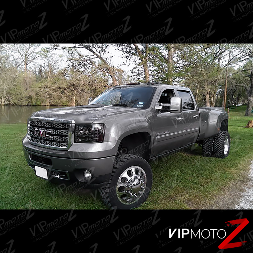 2007-2013 GMC Sierra 1500 2500HD 3500HD CCFL Halo LED DRL