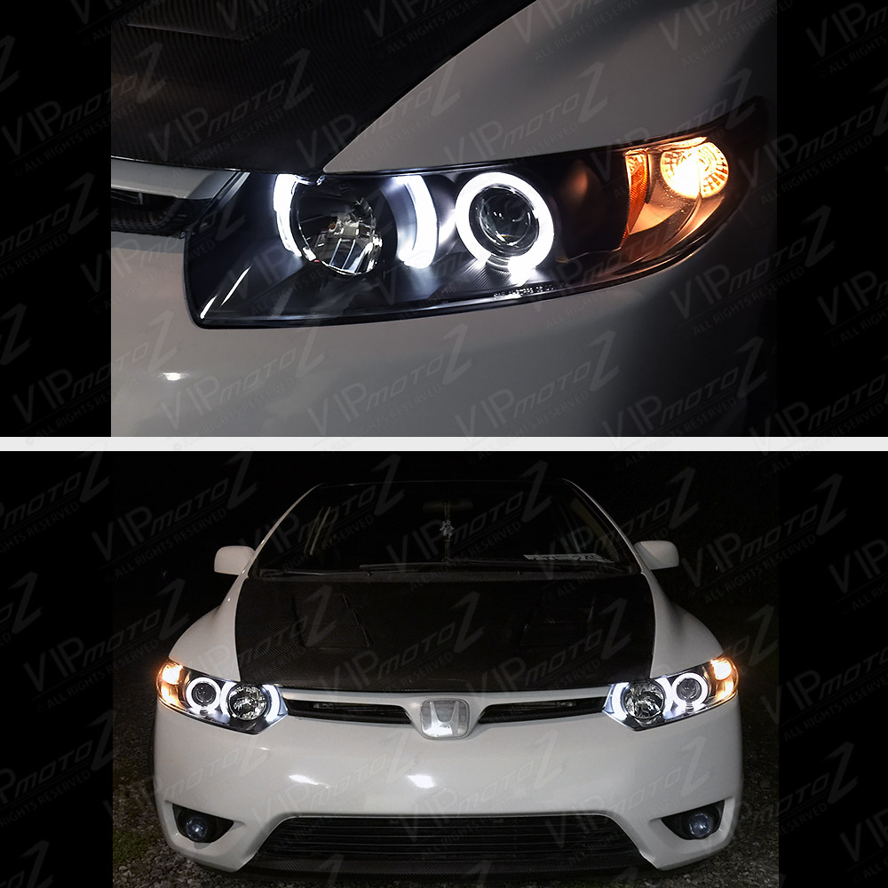 Bmw e87 angel eyes headlights-3835