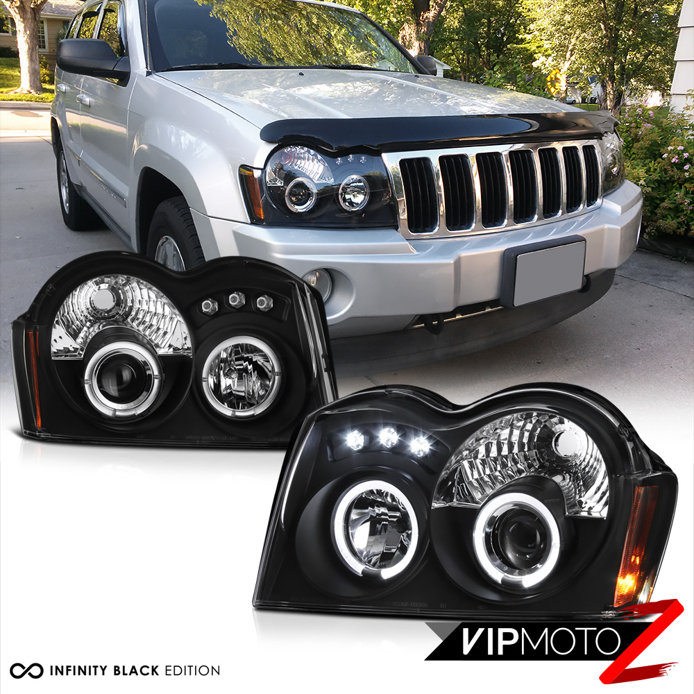 05-07 Jeep Grand Cherokee Driver Side Headlight Lamp Assembly