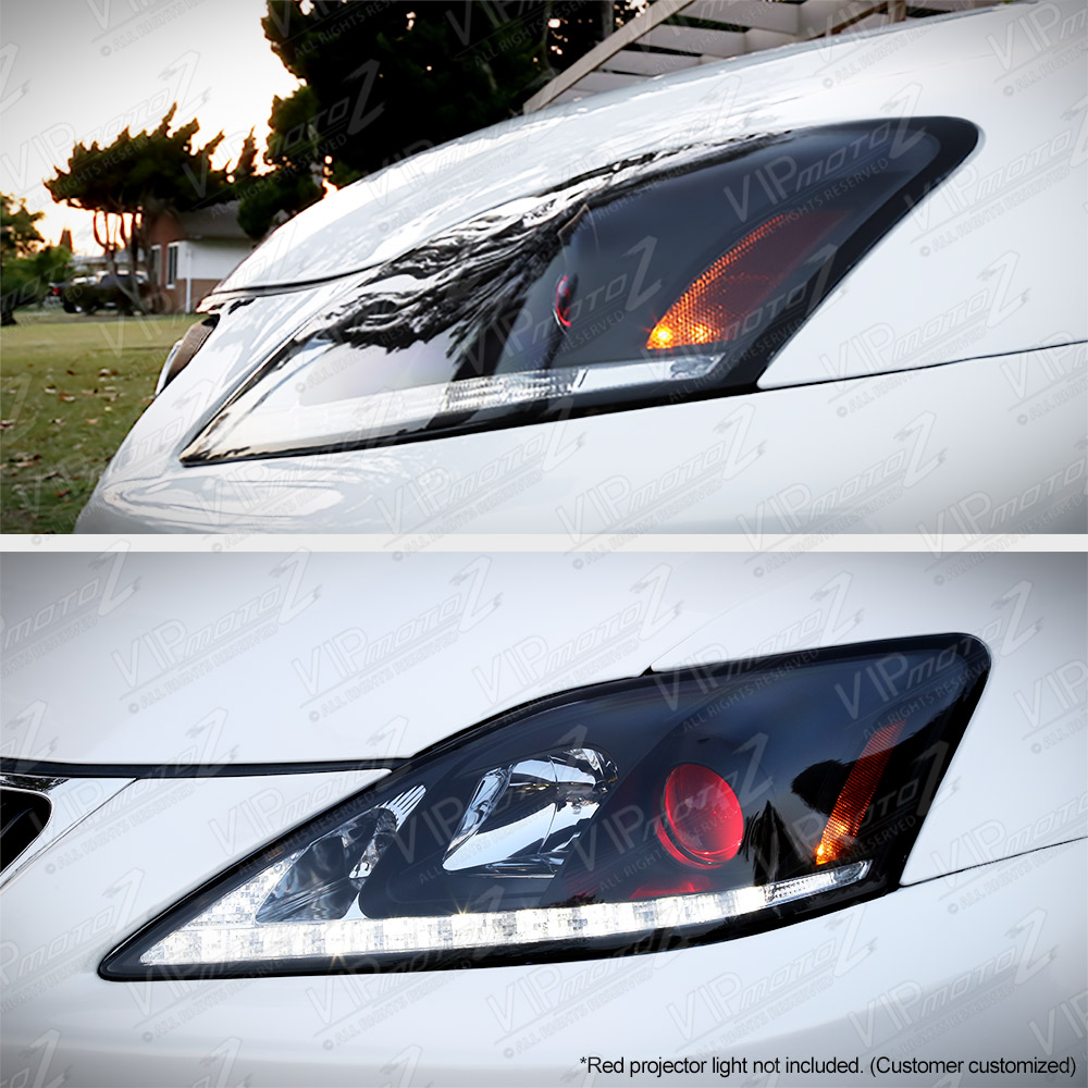 For 2006 2013 Lexus Is250 Is350 Led Strip Drl Led