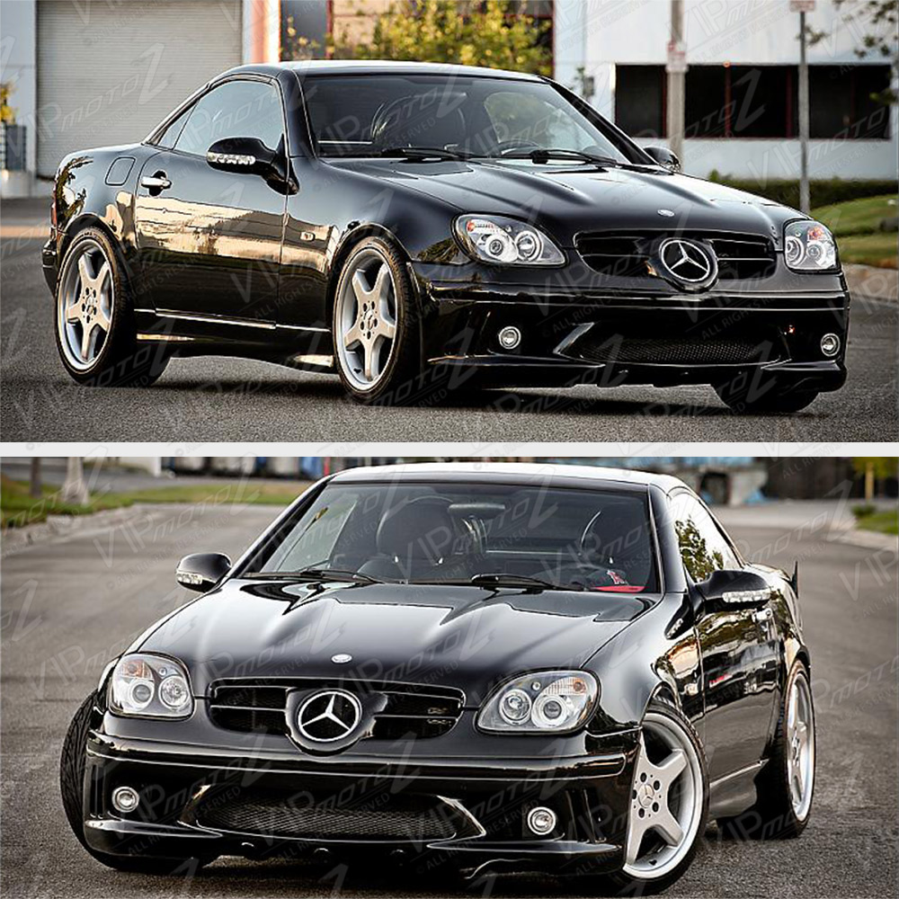 1998 2004 mercedes benz r170 slk230 slk320 slk32 amg black for Mercedes benz low beam bulb