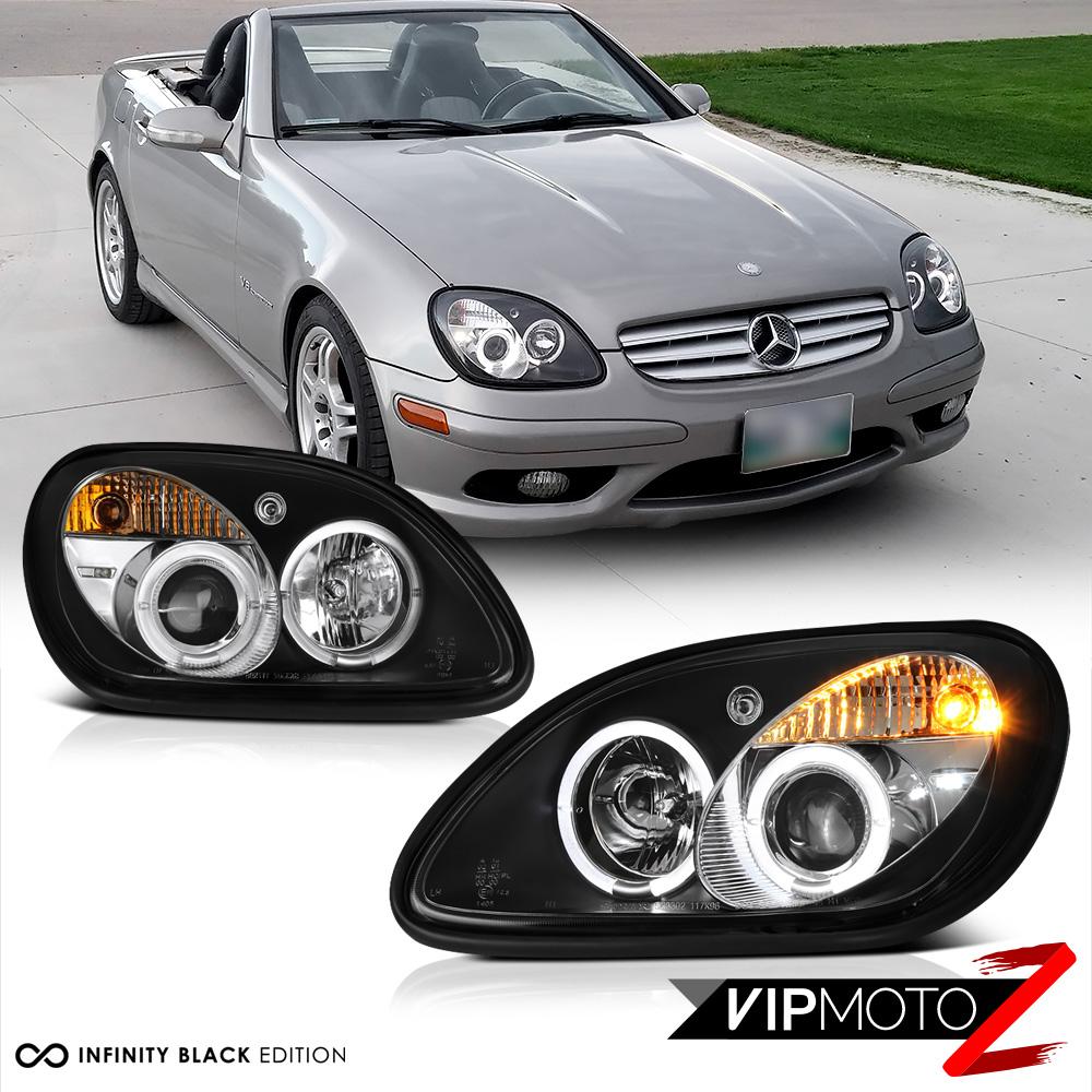 1998 2004 mercedes benz r170 slk230 slk320 slk32 amg black for Mercedes benz slk230 parts