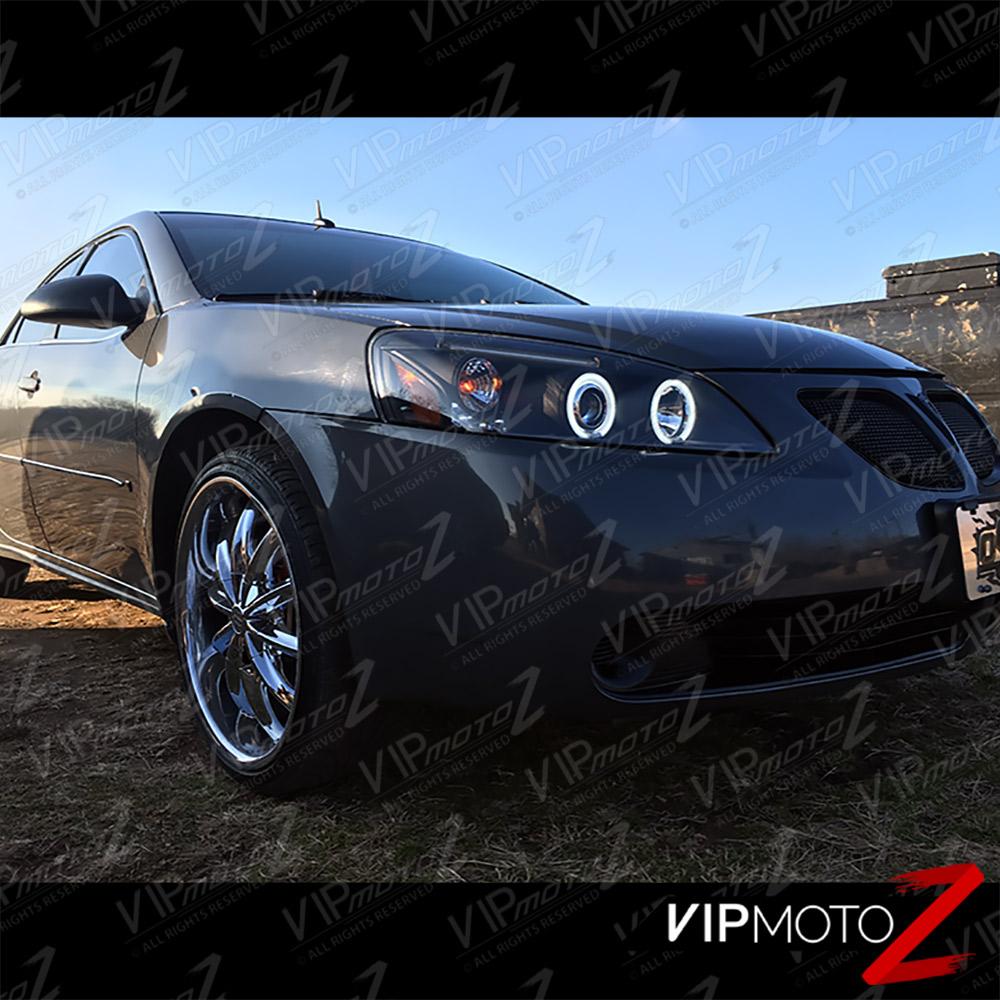 2005 2010 Pontiac G6 Gt Gtp Gxp Base Black Ccfl Halo Rim
