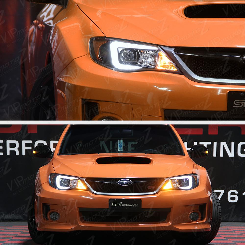 "Raj D S 2014 Impreza Wrx Premium: "" C-Forme Oled Tube "" Phares Lampes Pour 2008-2014 Subaru"