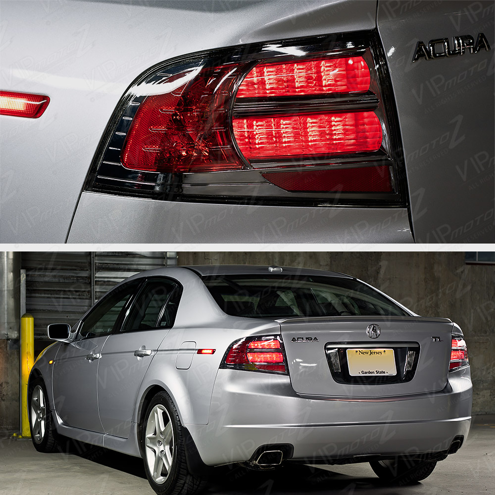 2004 2008 acura tl type s style upgrade rear brake tail lights lamps jdm vtec. Black Bedroom Furniture Sets. Home Design Ideas