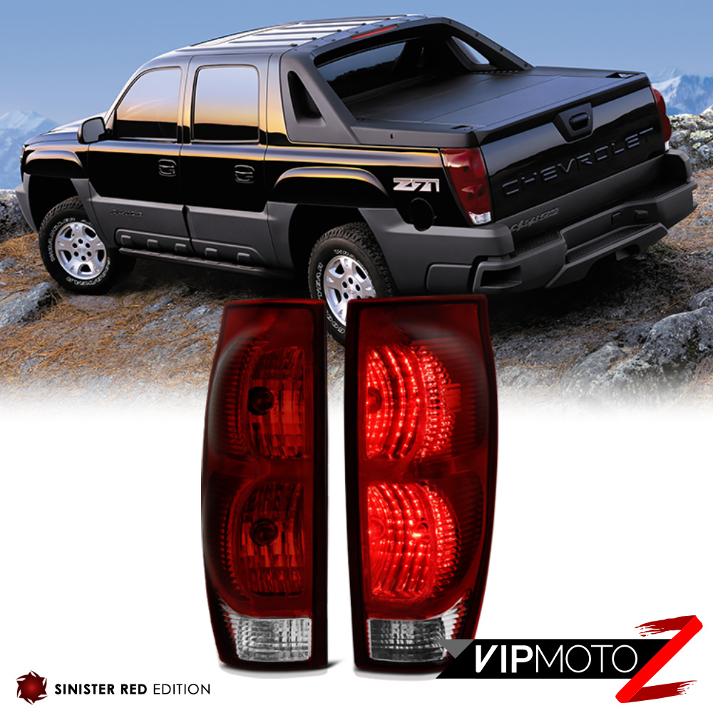 dark red 2002 2006 chevy avalanche 1500 2500 rear brake signal tail light lamp. Black Bedroom Furniture Sets. Home Design Ideas
